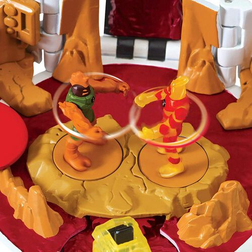 Ben 10 Heatblast Microworld Playset