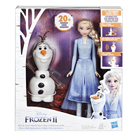 Disney Frozen 2 Talk And Glow Olaf And Elsa
