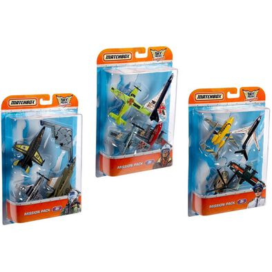 Matchbox Sky Busters 4 Pack - Assorted
