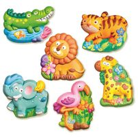 4M Mould and Paint Zoo Animals