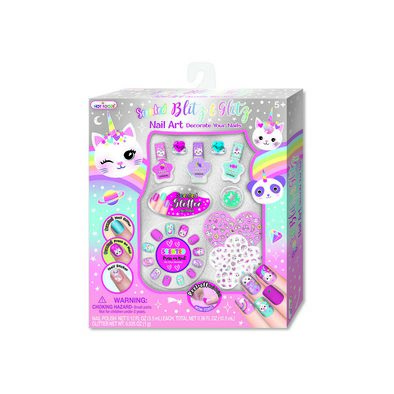 Hot Focus Scented Blitz N Glitz Nail Art Caticorn