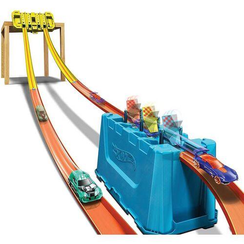 Hot Wheels Track Builder Unlimited Multi Lane Speed Box