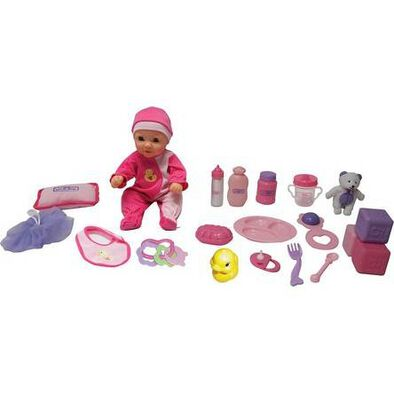 You and Me 14'Doll Starter Set Caucasian