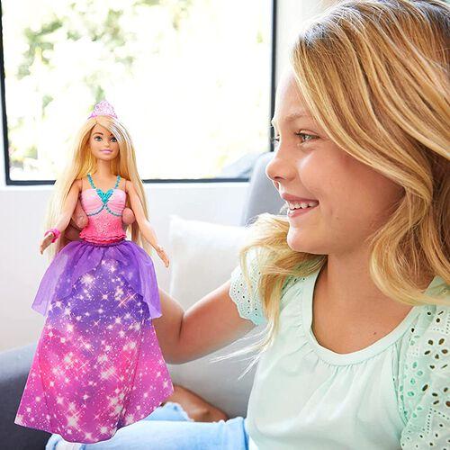 Barbie Dreamtopia 2-in-1 Princess to Mermaid Fashion Transformation Doll Assorted