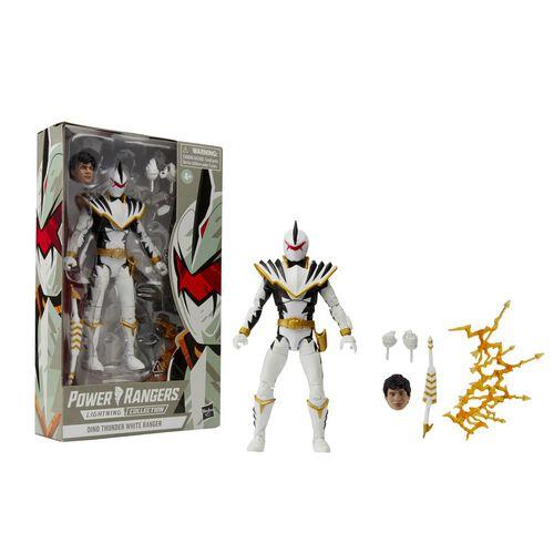 Power Rangers Lc 6In Dt White Ranger Figure