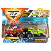Monster Jam 1:64 2 Packs Double Showdown - Assorted