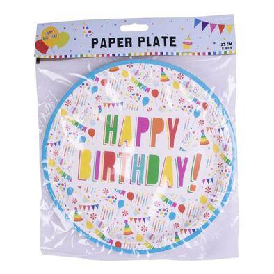 Paper Plate 23cm 6 Pieces