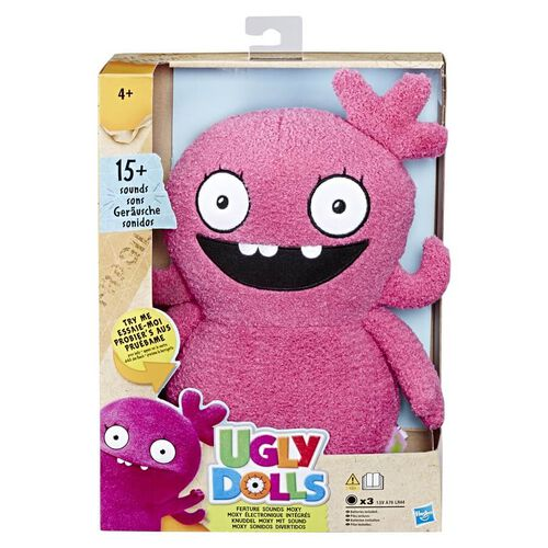 Uglydolls Feature Sounds Plush - Assorted