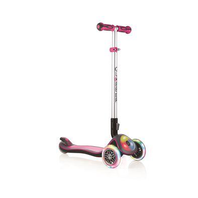 Globber Elite Lights Pink Scooter