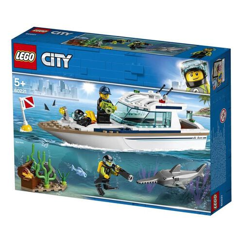 LEGO City Diving Yacht 60221