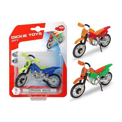 Dickie Toys Cross Bike - Assorted