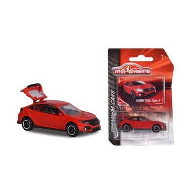 Majorette Civic Type R Red