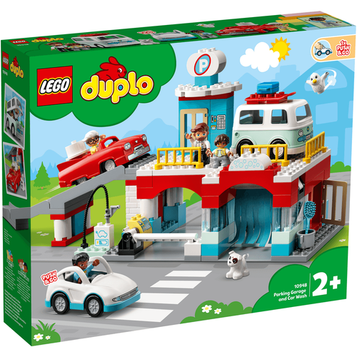 LEGO Duplo Town Parking Garage And Car Wash 10948