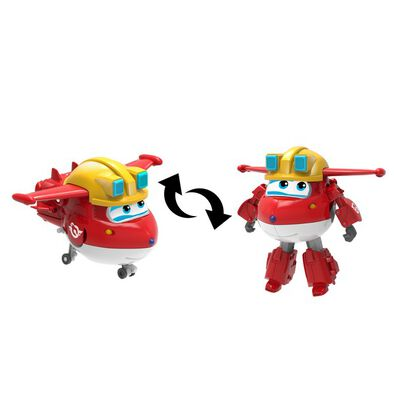 Super Wings Transforming Build It Jett