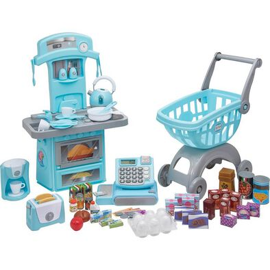 My First Kitchen and Shopping Bundle Set