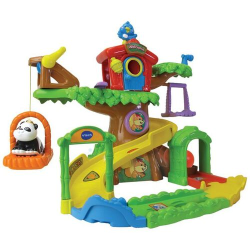 Vtech Toot Toot Animal Tree House - With Panda