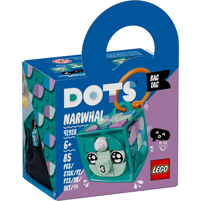 LEGO Dots Bag Tag Narwhal 41928