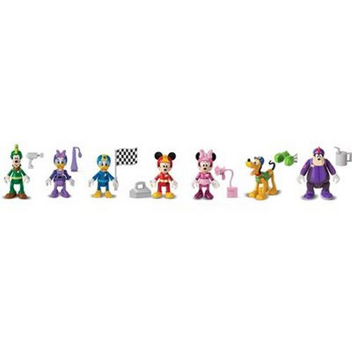 Mickey Mouse/Disney Mickey Roadster Racers Figures - Assorted