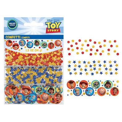 Toy Story 4 Confetti Paper & Foil
