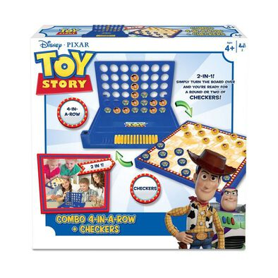 Toy Story 4 Inch In A Row And Checkers