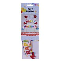 Cake Bunting Set - Rainbow