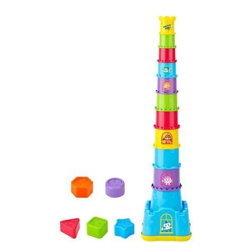 Robocar Poli Castle Stacker