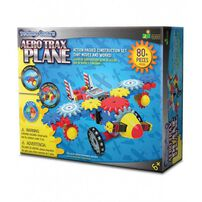 The Learning JourneyTechno Gears Aero Trax Plane