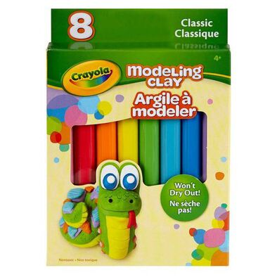 Crayola 8 Ct. Modeling Clay, Basic - Assorted