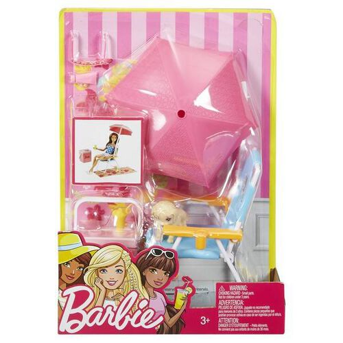 Barbie Lets Play Outdoor