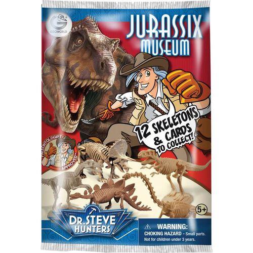 Dr. Steve Hunters Jurassic Museum Blind Pack