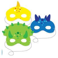 Dinosaur Mask 6 Pieces