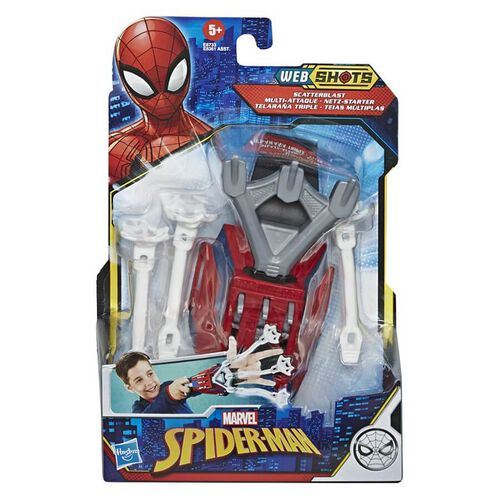 Marvel Spider-Man Web Shots Gear- Assorted