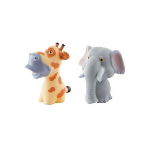 Simple Dimple My 1st Toy Premium Animals Vinyl Toy 2Pcs Set - Assorted