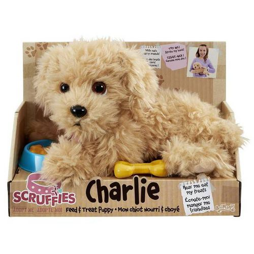 AniMagic Scruffies - Feed & Treat Charlie Puppy