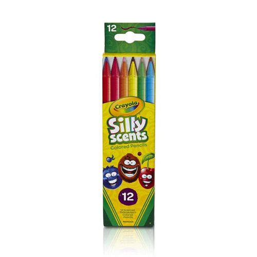 Crayola Scents 12 Colours Mini Twistable Pencils