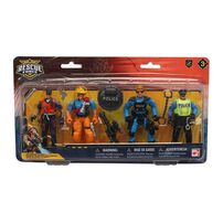 Rescue Force Team Figures Playset
