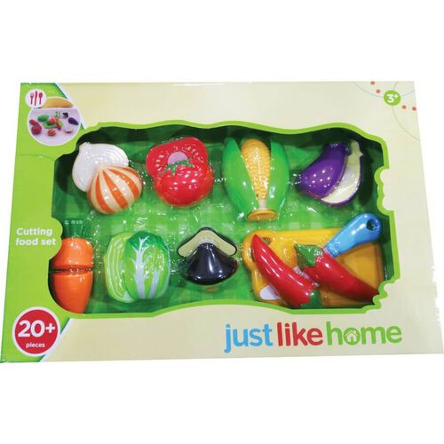 Just Like Home Play Food Set - Assorted