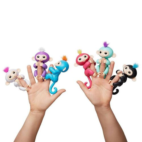 Wow Wee Fingerlings Interactive Baby Monkey - Assorted