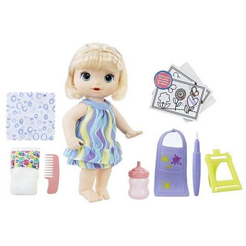 Baby Alive Ba Finger Paint Baby Blonde