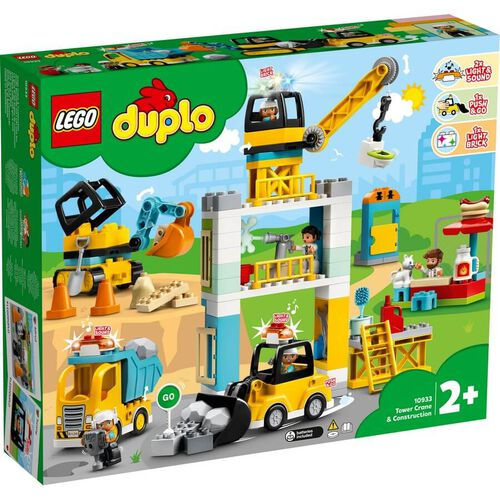 LEGO Duplo Town Tower Crane & Construction 10933