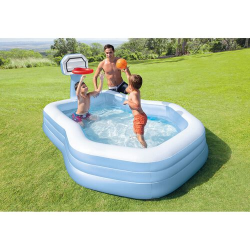 Intex Swim Center Shootin' Hoops Family Pool