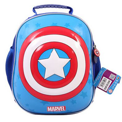 Mesuca Captain America Helmet 7 Protection Set Shoulder Bag