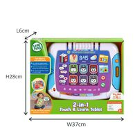 LeapFrog 2 in 1 Touch & Learn Tablet