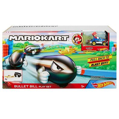 Hot Wheels Mario Kart Bullet Bill Play Set