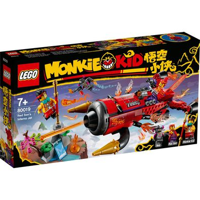 LEGO Monkie Kid Red Son's Inferno Jet 80019