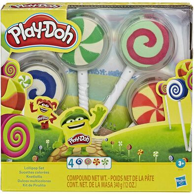 Play-Doh Lollipop 4-Pack