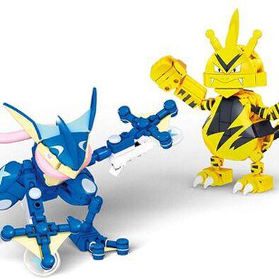 Mega Construx Pokemon Greninja vs Electabuzz