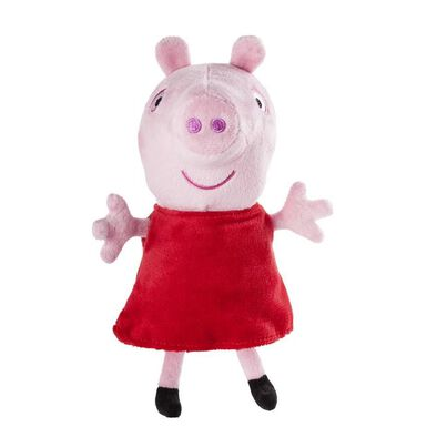 Peppa Pig 6 Inch Soft Toy With Sound - Assorted