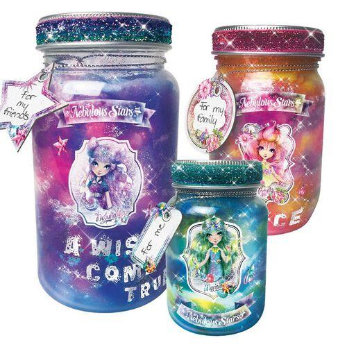 Nebulous Stars Galaxy Wish Jars