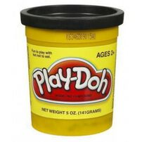 Play-Doh Single Can Black/White